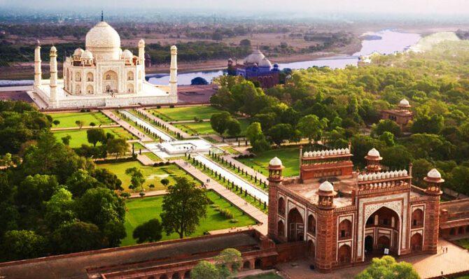تاج محل هند؛ قطره اشکی بر گونه ابدیت