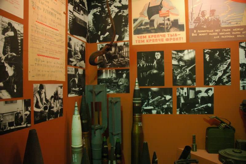 موزه دفاع و محاصره لنینگراد (Museum of the Defense and Siege of Leningrad)
